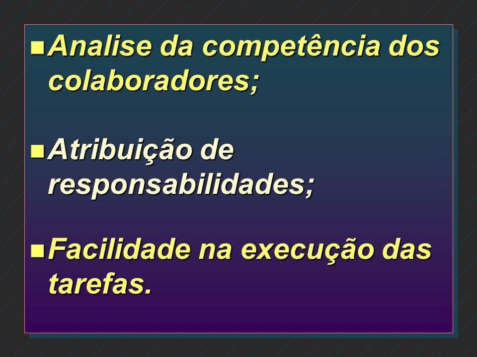 n n Avaliação de todos os procedimentos internos; n n Análise do fluxo de documentos; n n Analise do armazenamento de dados.