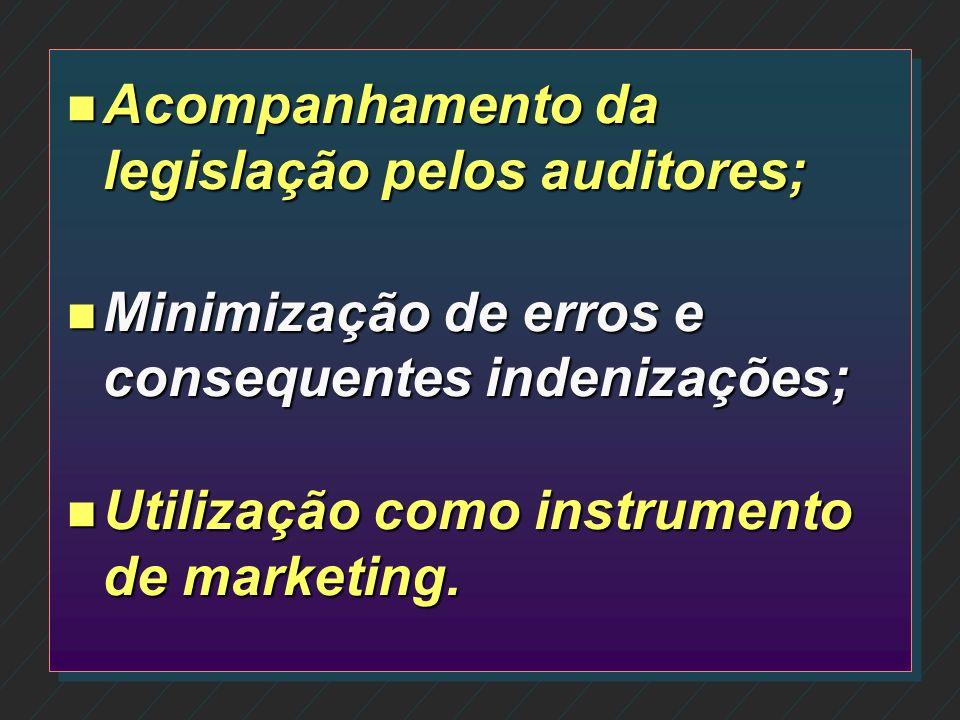 n Orientação a clientes sobre procedimentos que auxiliem a execução dos serviços; n Identificação fácil e ágil de possíveis erros; n Proposição de nov