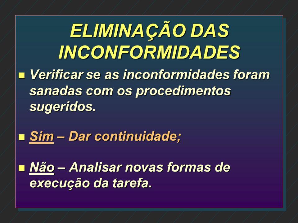 IMPLANTAÇÃO DAS ALTERAÇÕES n Forma de realização; n Quem é o responsável; n Data prevista para a implantação; n Necessidade ou não de comunicação ao c
