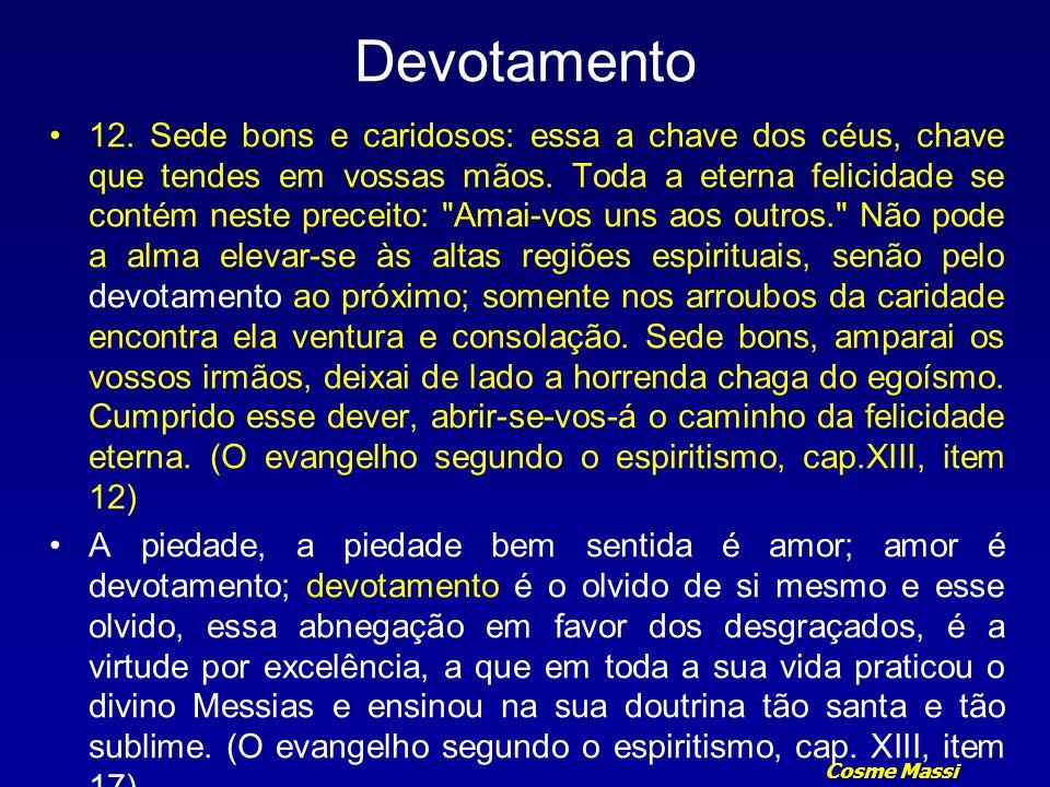 Cosme Massi Devotamento 8.