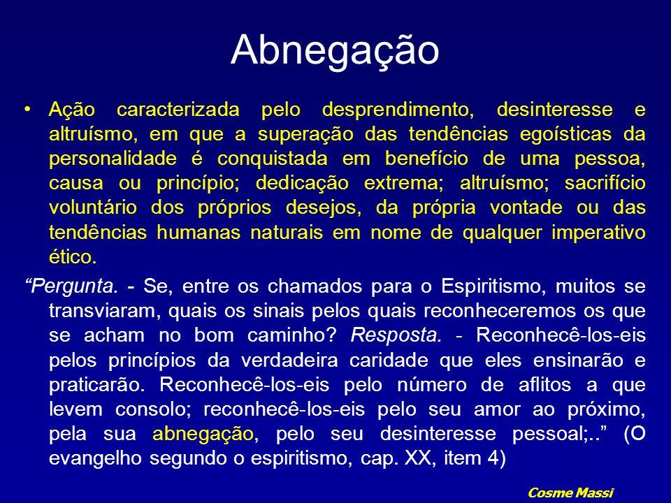 Cosme Massi Abnegação 895.