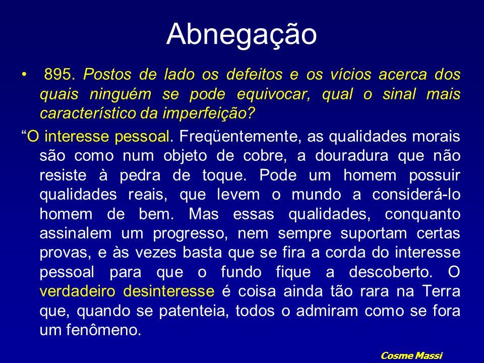 Cosme Massi Abnegação 912.