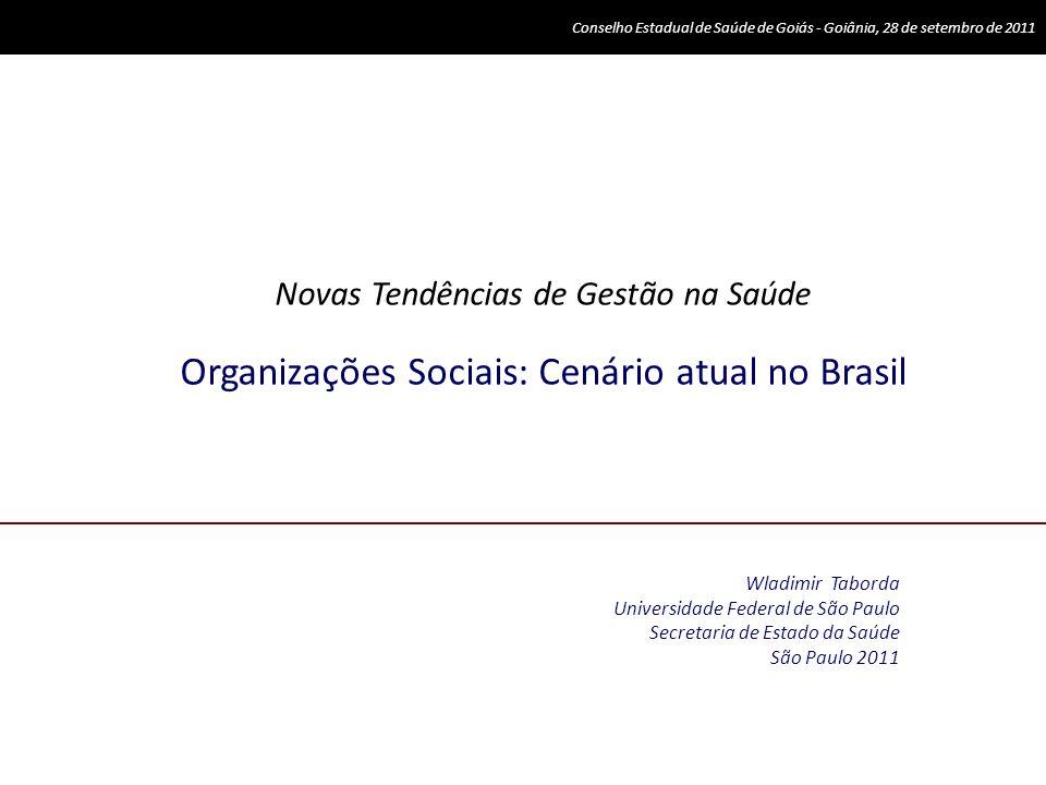 Folha de São Paulo, 29 de novembro de 2010 As parcerias com setor privado são reconhecidas como uma alternativa importante para melhoria a gestão do SUS Hospital Miguel Arraes Hospital Dom Helder 15 unidades UPA 24h