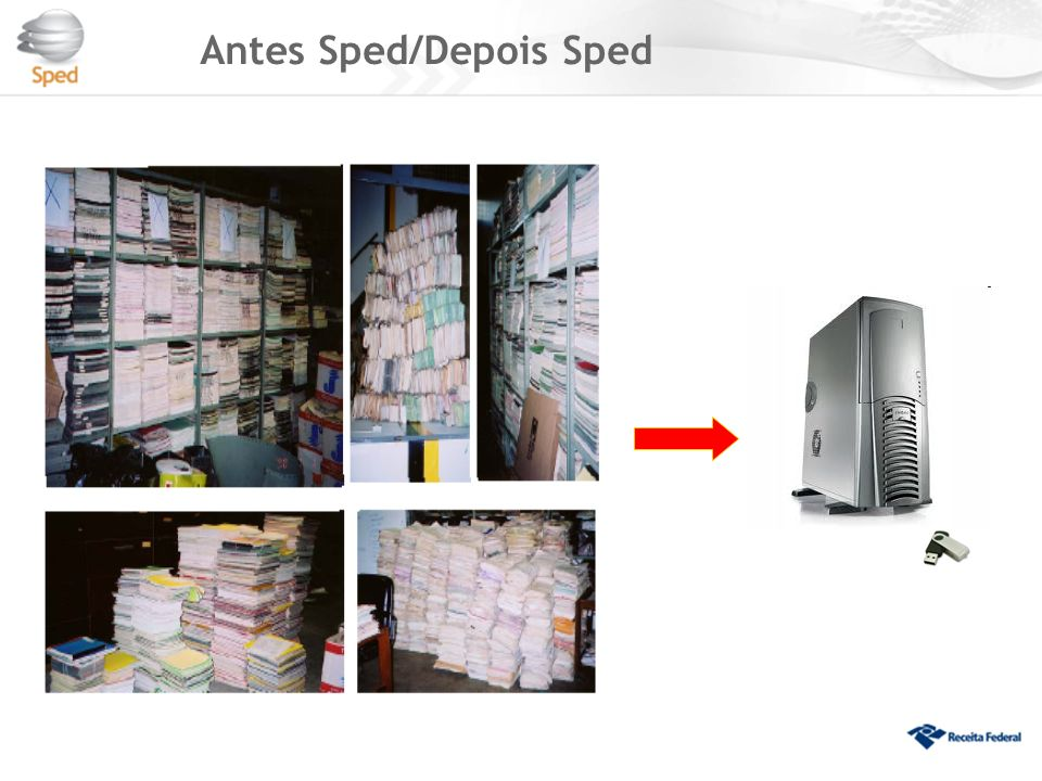 Antes Sped/Depois Sped