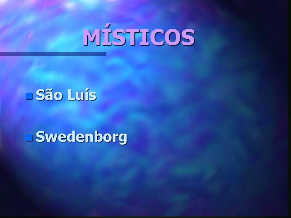 MÍSTICOS n São Luís n Swedenborg