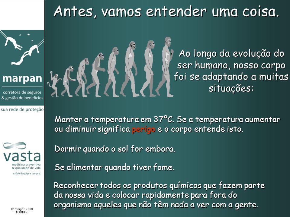 Antes, vamos entender uma coisa. Ao longo da evolução do ser humano, nosso corpo foi se adaptando a muitas situações: Manter a temperatura em 37ºC. Se