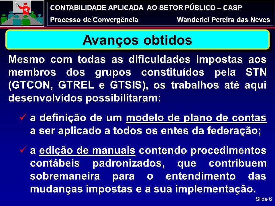 CONTABILIDADE APLICADA AO SETOR PÚBLICO – CASP Processo de ConvergênciaWanderlei Pereira das Neves REFLEXÃO: Qual o papel da Contabilidade Aplicada ao Setor Público – CASP.