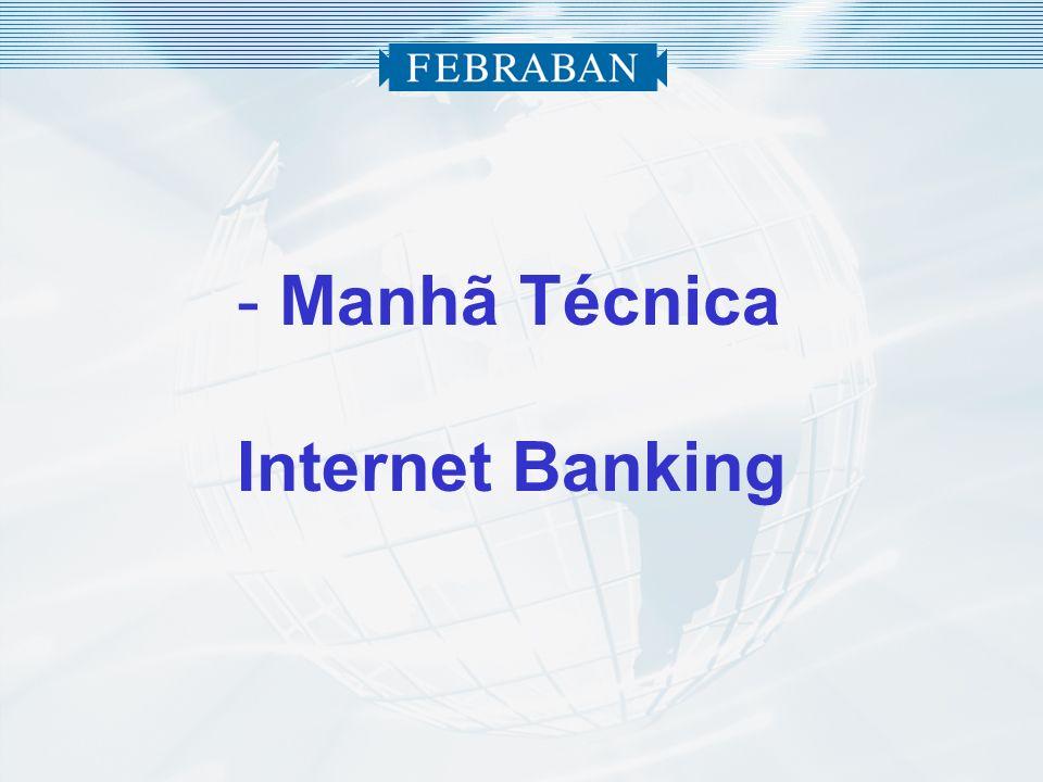 - Manhã Técnica Internet Banking