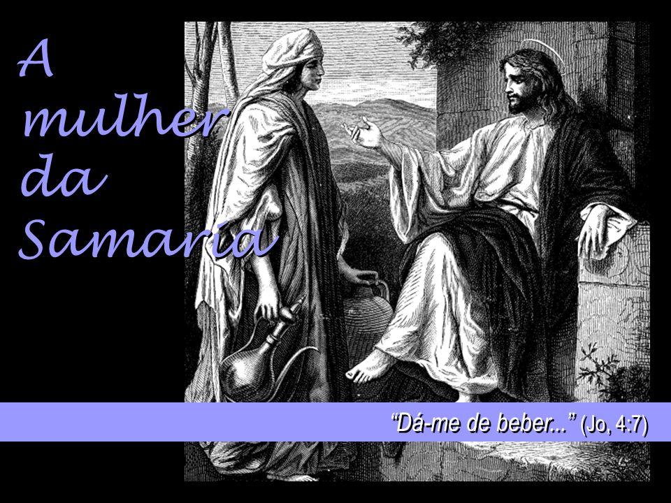 A mulher com fluxo de sangue... prostrou-se diante dele... (Mar, 5:33)