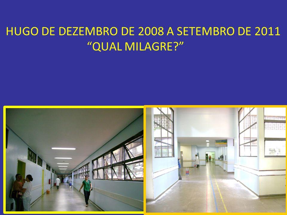 HUGO DE DEZEMBRO DE 2008 A SETEMBRO DE 2011 QUAL MILAGRE?
