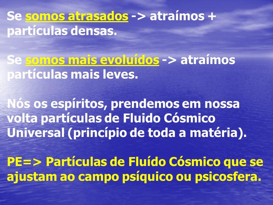 PE (Gênese - Cap 14) => É uma porção de FLUIDO CÓSMICO UNIVERSAL em torno de um foco de inteligência ou alma.