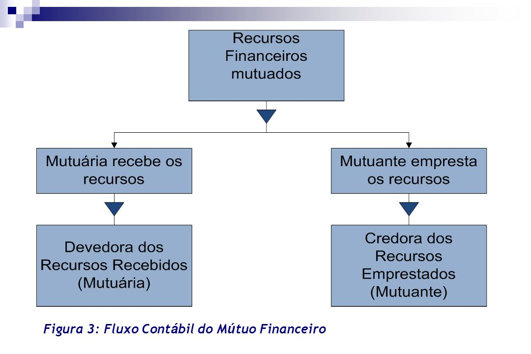 Figura 3: Fluxo Cont á bil do M ú tuo Financeiro