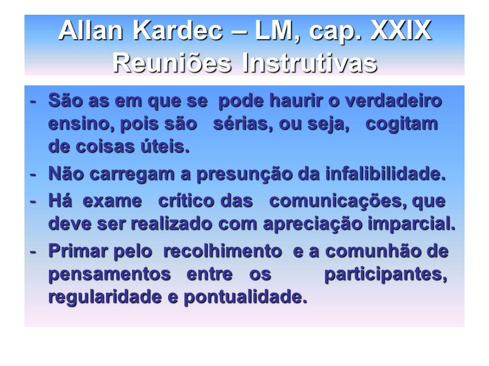 Allan Kardec – LM, cap.