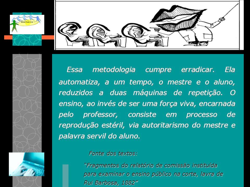 Impresso No Brasil, desde a fundação do Instituto Rádio Monitor, em 1939, e depois do Instituto Universal Brasileiro, em 1941, várias experiências de EaD foram iniciadas e levadas a termo com relativo sucesso, tanto a nível governamental quanto privado.