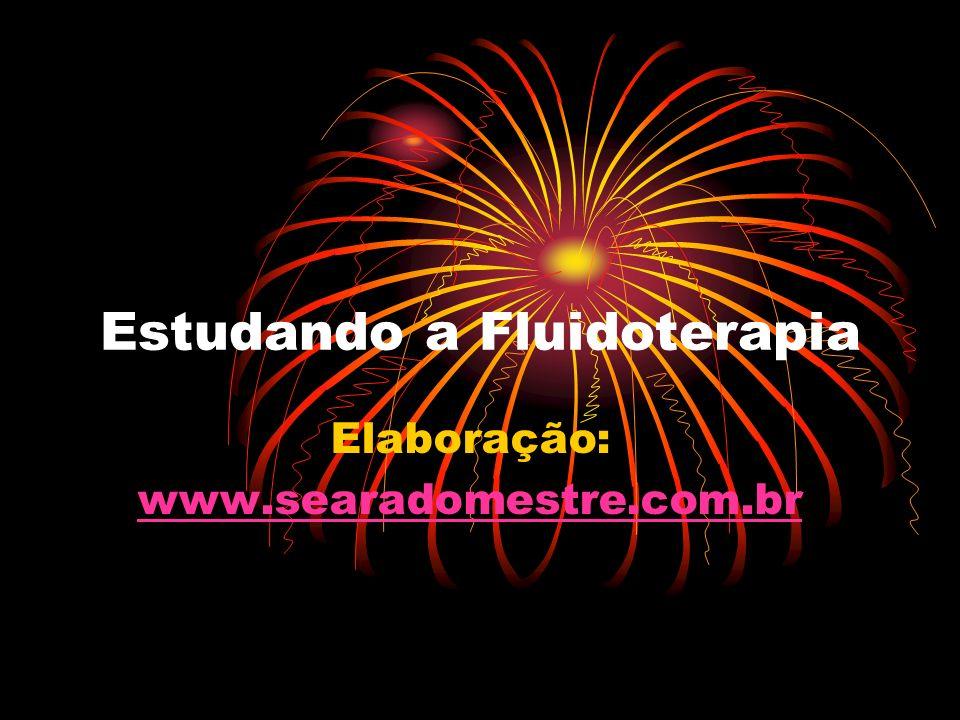 Estudando a Fluidoterapia Elaboração: www.searadomestre.com.br