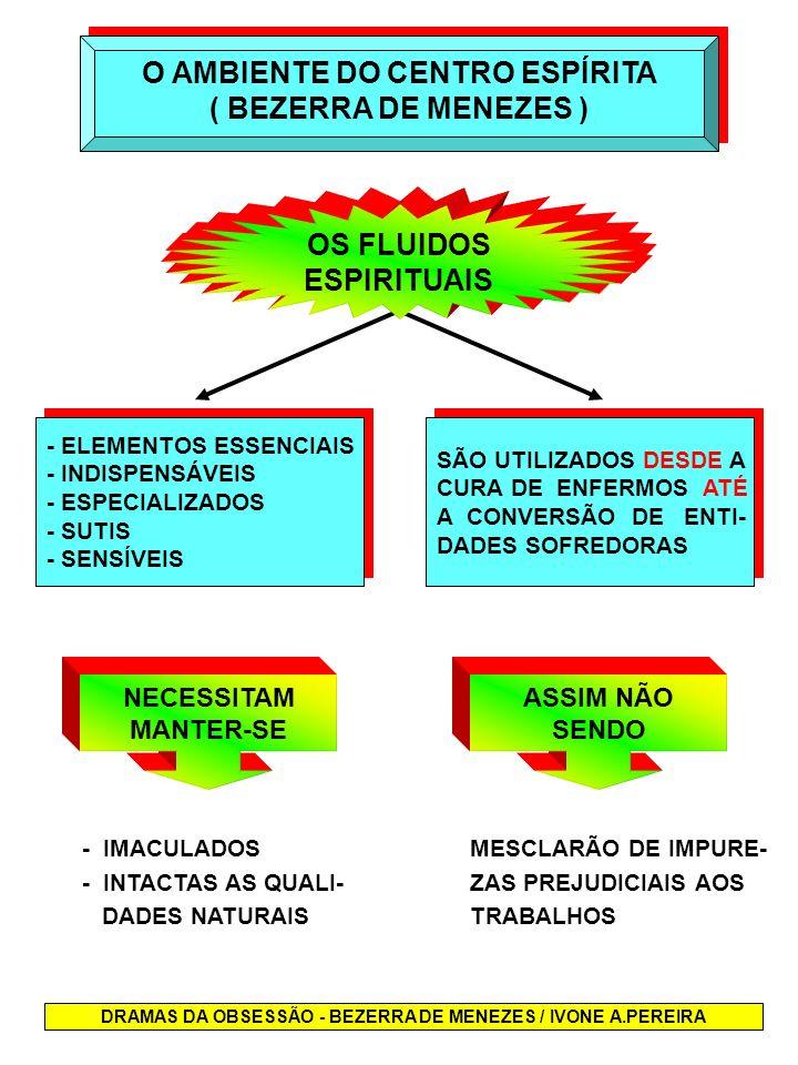 DRAMAS DA OBSESSÃO - BEZERRA DE MENEZES / IVONE A.PEREIRA - ELEMENTOS ESSENCIAIS - INDISPENSÁVEIS - ESPECIALIZADOS - SUTIS - SENSÍVEIS - ELEMENTOS ESS