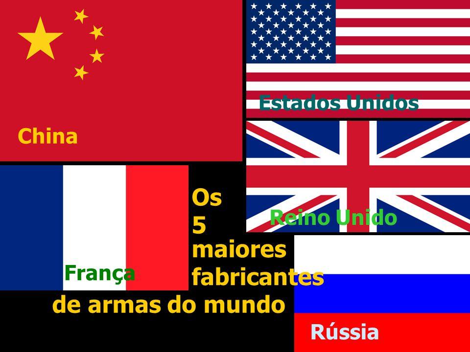 China Estados Unidos França Reino Unido Rússia Os 5 Membros do Conselho de Segurança da ONU