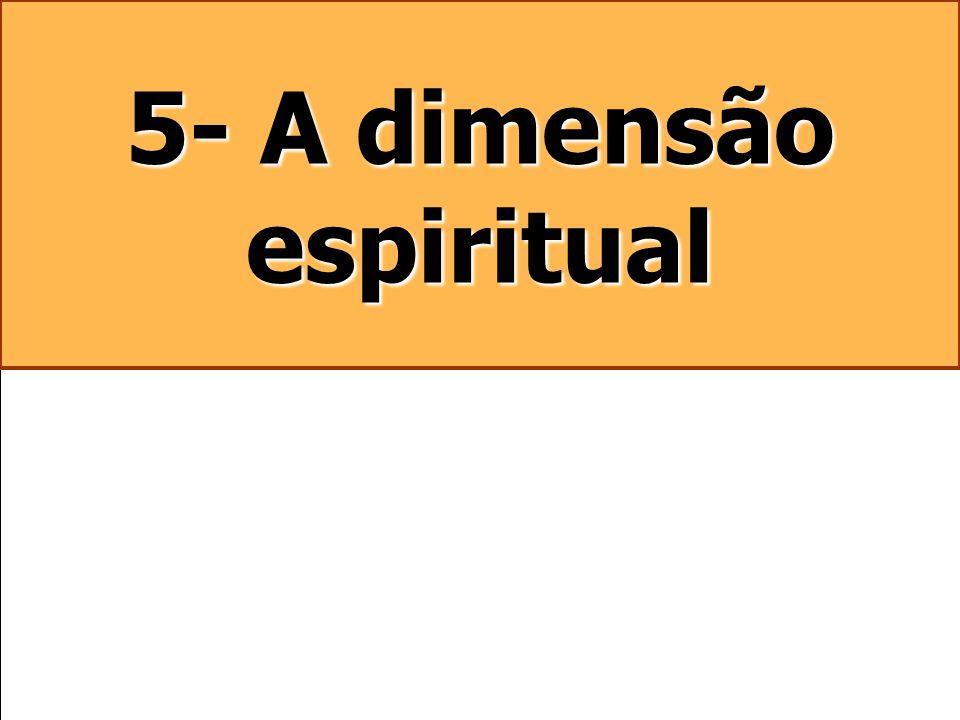 5- A dimensão espiritual