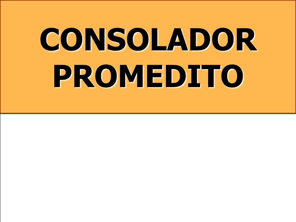 CONSOLADOR PROMEDITO