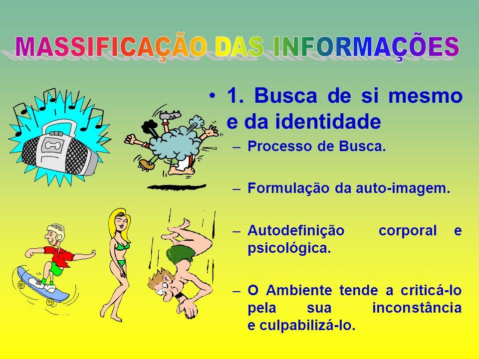 ADOLESCÊNCIA Síndrome da Adolescência Normal (SNA) 1. Busca de si mesmo e da identidade 2. A tendência grupal 3. Necessidade de intelectualizar e fant