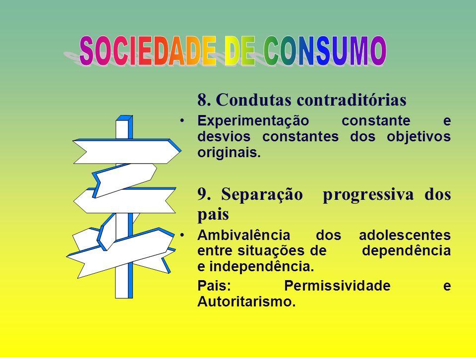 6. A Sexualidade 7. Atitude Social reivindicatória Adolescente se percebe como parte de uma coletividade.