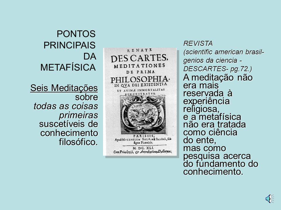 ASSOCIOU GEOMETRIA E ÁLGEBRA Introduz as Coordenadas Cartesianas 0