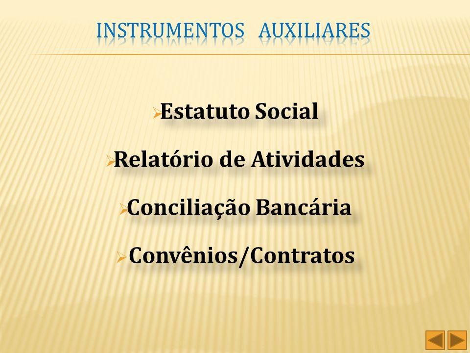 Balanço Patrimonial - Relatório destinado à evidenciação da situação patrimonial da entidade. Demonstração do Superávit/Deficit do Exercício - Tem a f