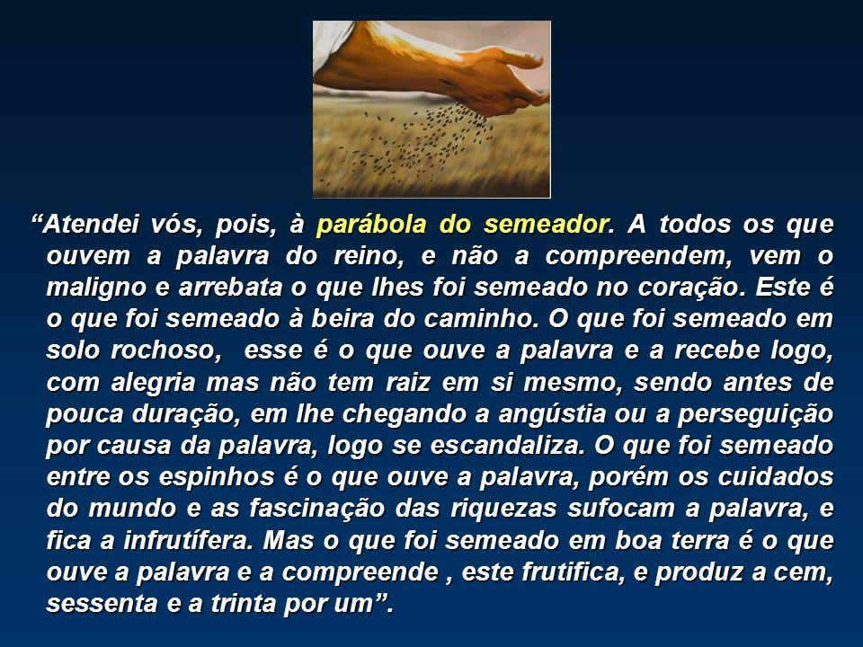 Parábola das parábolas (Cairbal Schutel) Parábola das parábolas (Cairbal Schutel) Síntese dos caracteres predominantes em todas as almas.