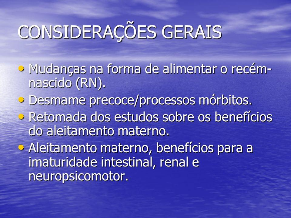 BENEFÍCIOS DO ALEITAMENTO PARA A CRIANÇA.