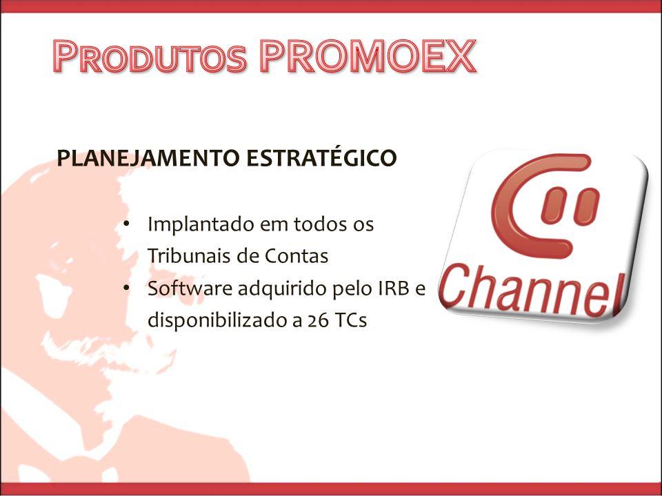 PROGRAMA DE FORMAÇÃO EM EAD Capacitação de 2 servidores por TC em Educação a Distância 4 módulos, ministrados pelos mais conceituados consultores do Brasil Multiplicadores