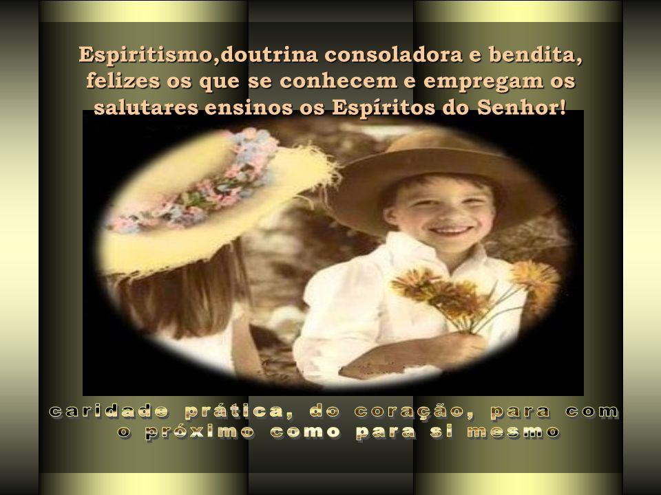 RECONCILIAÇÃO: Sincera = desinteresse próprio + caridade = verdadeira grandeza da alma Evita discórdias na vida presente e a se perpetuarem nas existê