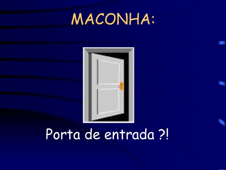 MACONHA: Porta de entrada ?!