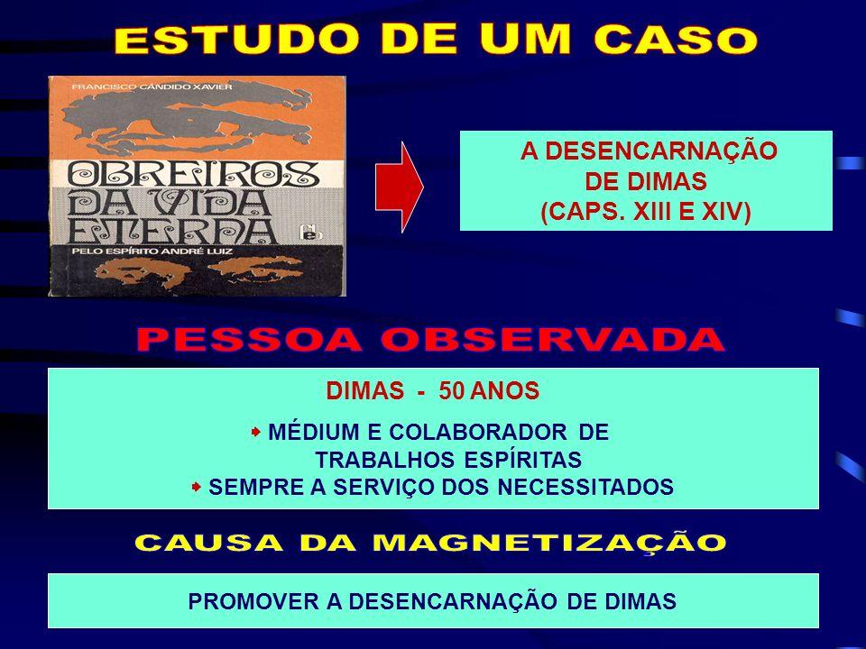 ASSISTENTE - JERÔNIMO AUXILIARES - ANDRÉ LUIZ, HIPÓLITO E LUCIANA RESIDÊNCIA DE DIMAS, NUMA CIDADE BRASILEIRA CIRROSE FÍGADO DESORGANIZADO ESTÔMAGO, PÂCREAS E DUODENO COM ANOMALIAS RINS PRATICAMENTE MORTOS SINTOMAS DE GANGRENA EM TODO O ORGANISMO CORAÇÃO TRABALHAVA COM DIFICULDADE
