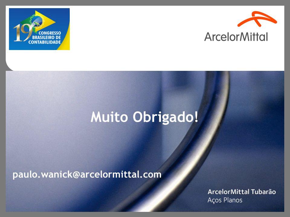 Muito Obrigado! paulo.wanick@arcelormittal.com