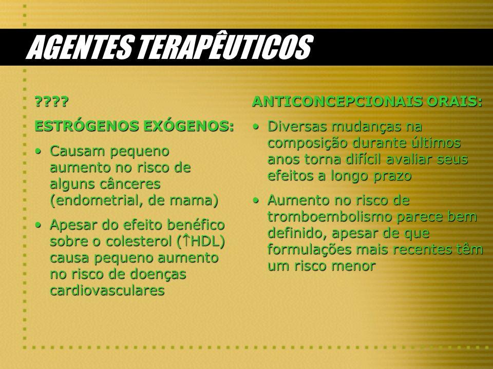 AGENTES TERAPÊUTICOS ???.