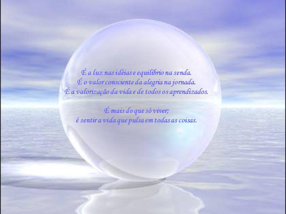 Espiritualidade e Consciência Espiritualidade é um estado de consciência; não é doutrina, não! É o que se leva dentro do coração. É o discernimento em