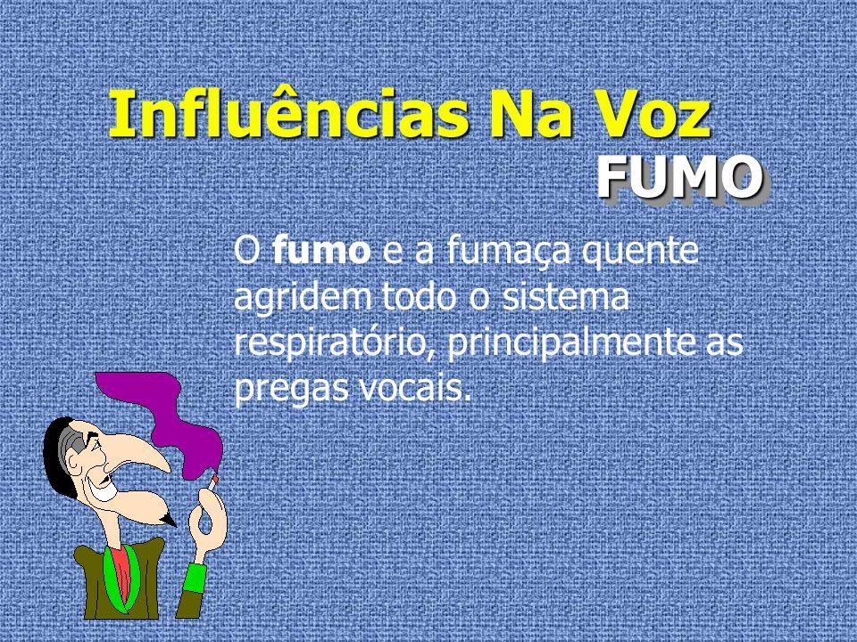 Influências Na Voz ARCONDICIONADOARCONDICIONADO O limite de resistência é individual.