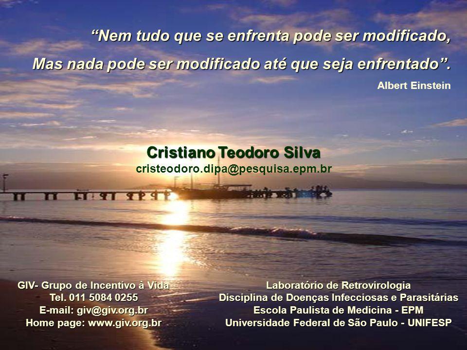 GIV- Grupo de Incentivo à Vida Tel. 011 5084 0255 E-mail: giv@giv.org.br Home page: www.giv.org.br Cristiano Teodoro Silva cristeodoro.dipa@pesquisa.e
