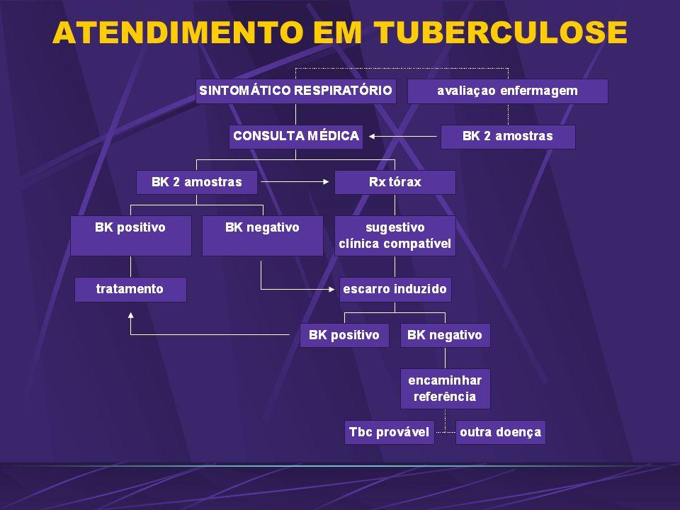 ATENDIMENTO EM TUBERCULOSE