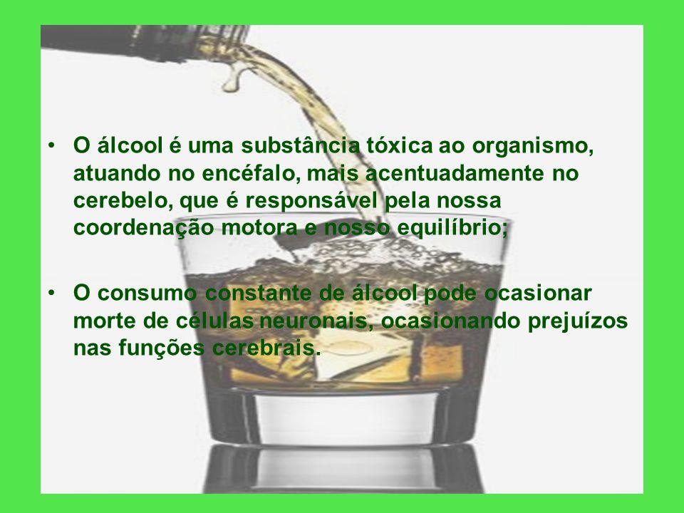 O que é o álcool? É uma substância química, obtida a partir da fermentação e destilação da cana de açúcar, que pode ser utilizado como combustível (na