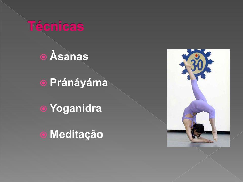Àsanas Pránáyáma Yoganidra Meditação