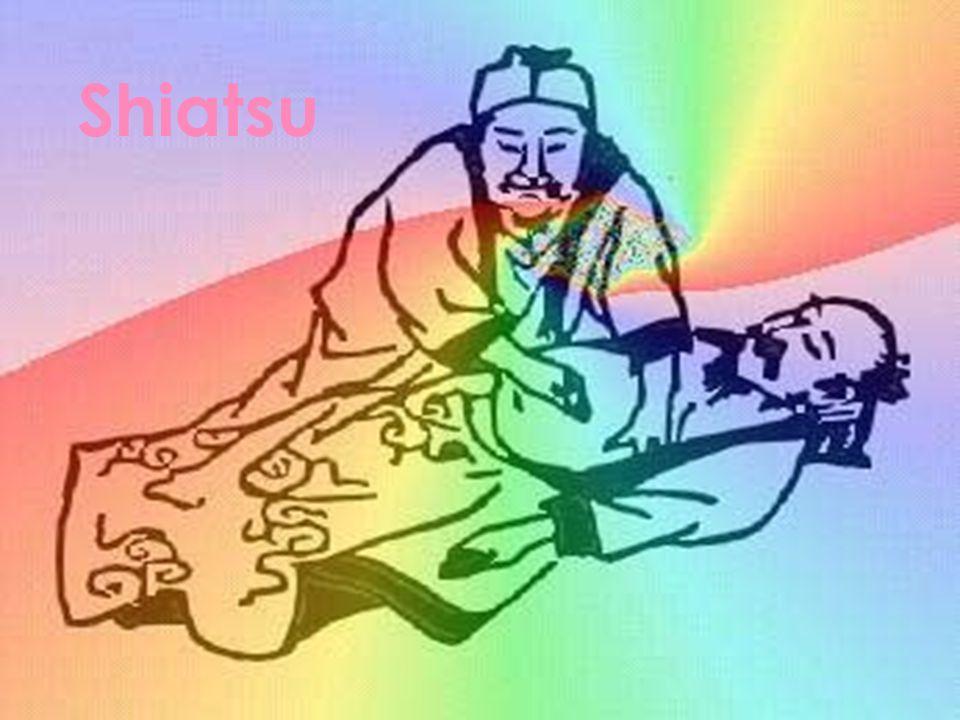 A palavra Shiatsu significa pressão (atsu) com os dedos ( shi); Pressão com os dedos aplicada em determinadas zonas do corpo, sem o uso de instrumentos, pretendendo tornar o paciente mais consciente do seu próprio corpo físico e psicológico;