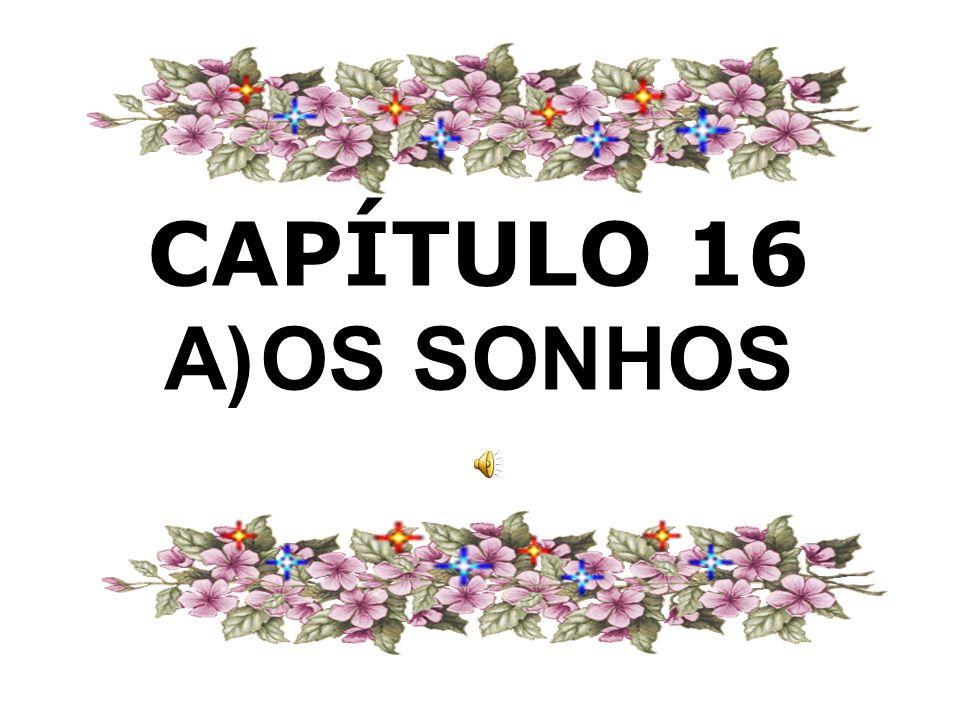 CAPÍTULO 16 A)OS SONHOS