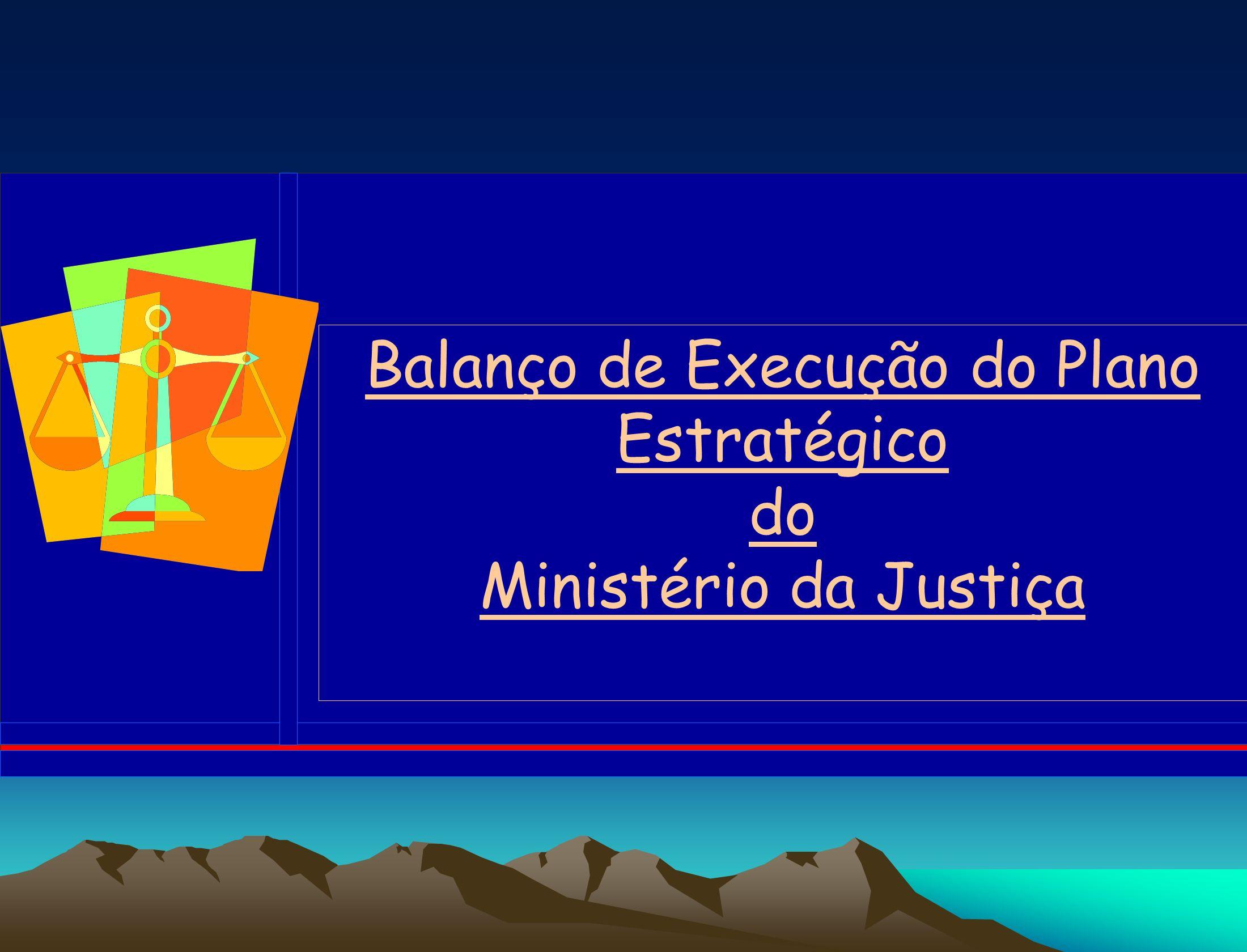 GRANDES OPÇÕES DO PLANO ANÁLISE DA SITUAÇÃO (2001 – 2002) PLANO NACIONAL DE DESENVOLVIMENTO PLANO ESTRATÉGICO DA JUSTIÇA PROGRAMA 1 PROGRAMA 2PROGRAMA 3 SUB -PROGRAMA 1 SUB -PROGRAMA 2 SUB -PROGRAMA 1 SUB -PROGRAMA 3 SUB -PROGRAMA 2 SUB -PROGRAMA 1 SUB -PROGRAMA 2 SUB -PROGRAMA 4