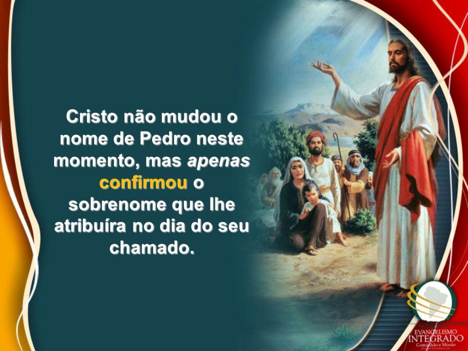 Este achou primeiro a seu irmão Simão, e disse-lhe: Achamos o Messias (que, traduzido, é o Cristo).