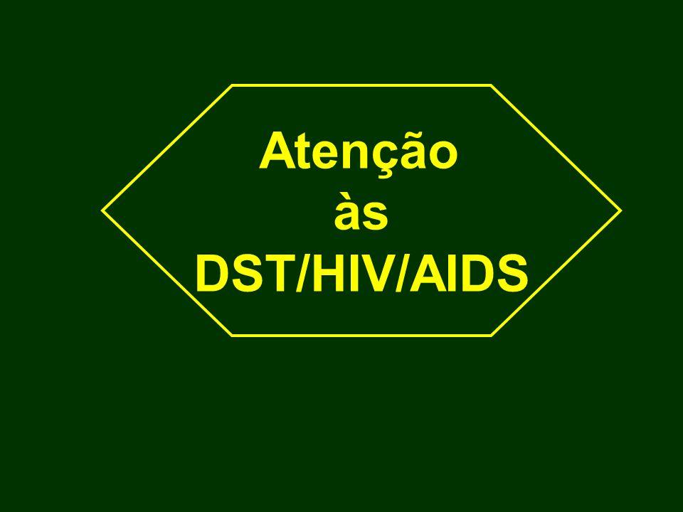 Atenção às DST/HIV/AIDS