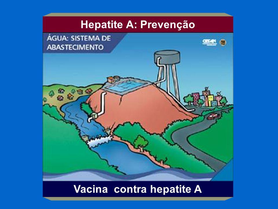 Hepatite A: Prevenção Vacina contra hepatite A
