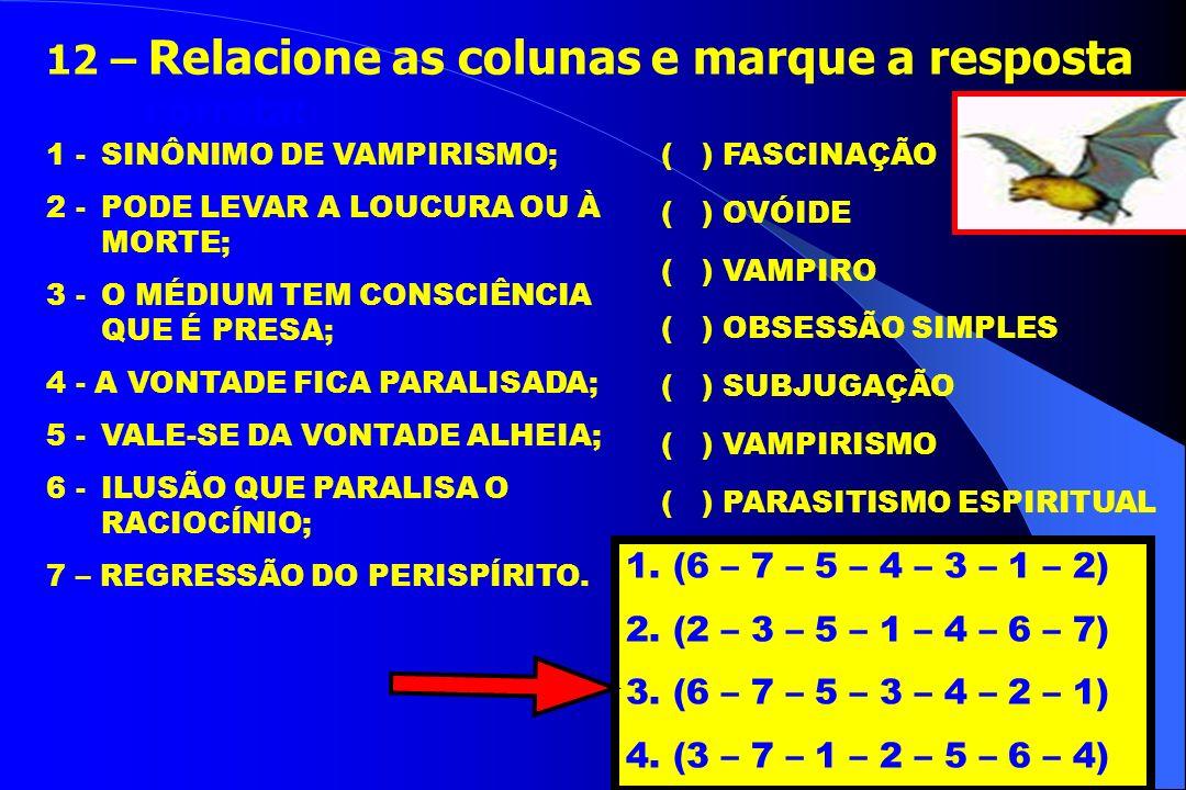 1. CAMPO PROPÍCIO E EXISTÊNCIA DE LARVAS MENTAIS; 2. CONTÁGIO; 3. PRODUÇÃO DE LARVAS MENTAIS E A EXISTÊNCIA DOS VAMPIROS; 4. COMBATE AO VAMPIRISMO. 2
