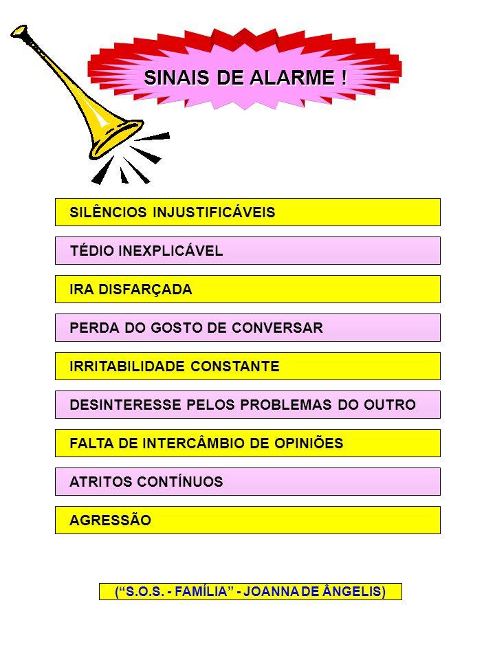 CONSEQÜÊNCIAS OS ESPINHOS DA INCOMPREENSÃO ABREM DISTÂNCIAS PRODUZEM FERIDAS AS DIFICULDADES DIFICULDADES ATITUDESPREVENTIVAS ABRIR O CORAÇÃO UM PARA COM O OUTRO PROVIDÊNCIAS PARA SANAR OS MALES EXAME DAS OCORRÊNCIAS (S.O.S.