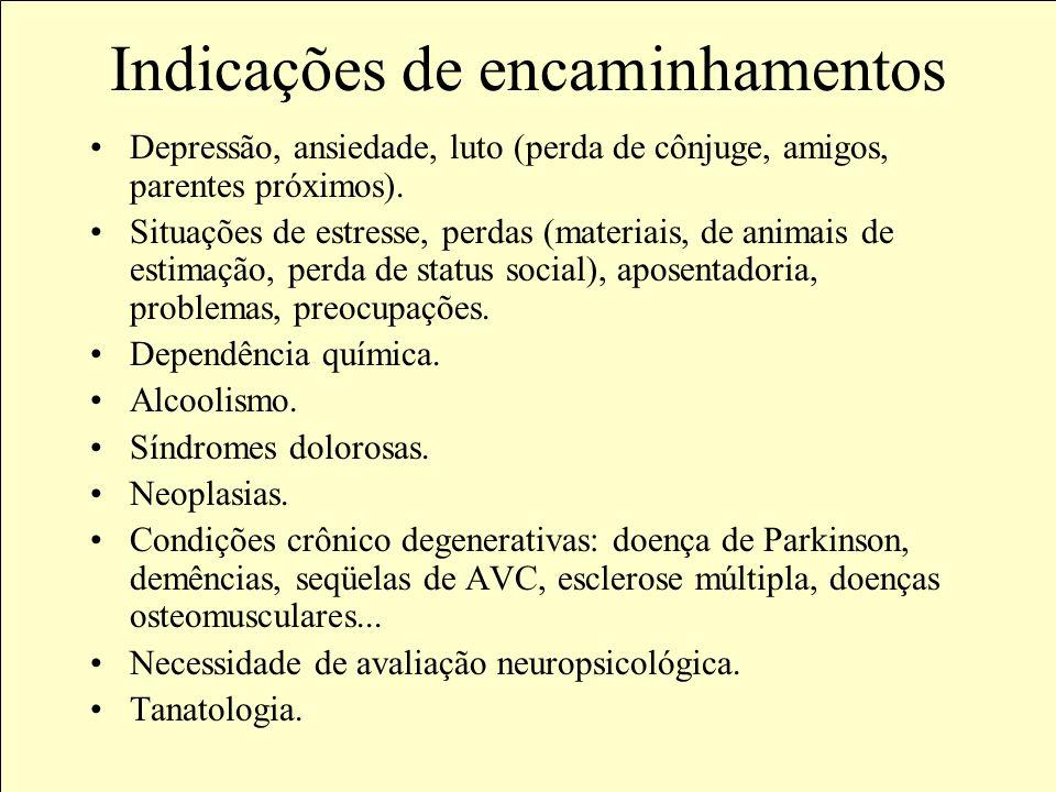 Objetivos da avaliação Avaliar o estado mental, funcional, emocional e comportamental do idoso, dentro de seus contextos culturais, biopsicossociais.